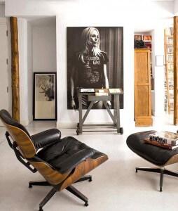 Eames loungestoel 1956